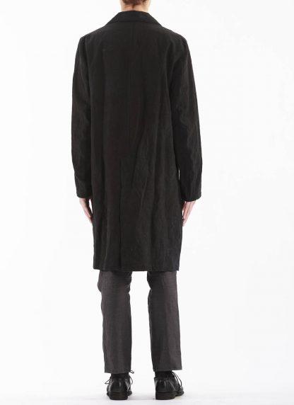 PROPOSITION CLOTHING Men Shop Coat Jacket Herren Mantel CL 0127 antique linen black hide m 7