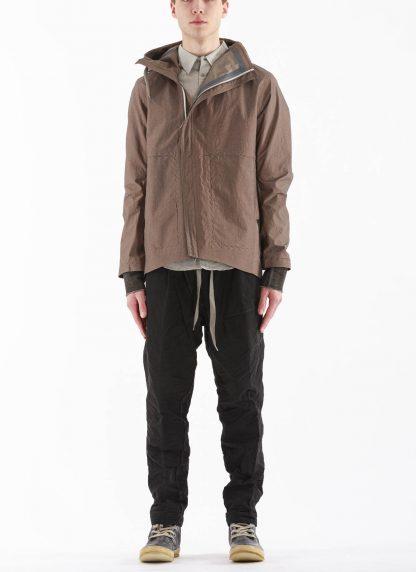 TAICHI MURAKAMI Men Mountain Parka Jacket Origami Sleeve Herren Jacke Regenjacke 3 layer nylon waterproof medium grey hide m 4