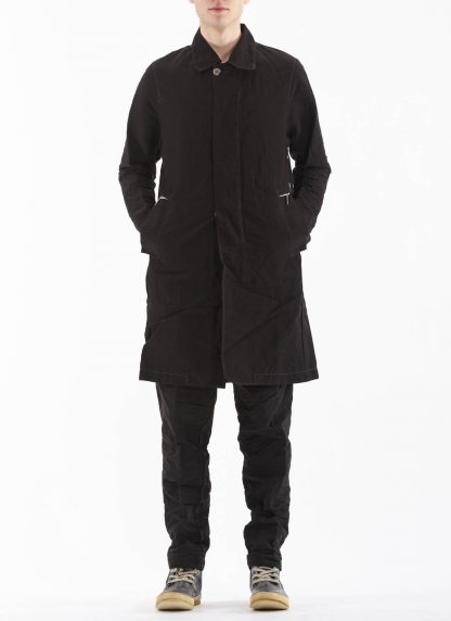 TAICHI MURAKAMI Men Work Coat Genome Paper Broad Herren Jacke Mantel printed paper cotton black hide m 5