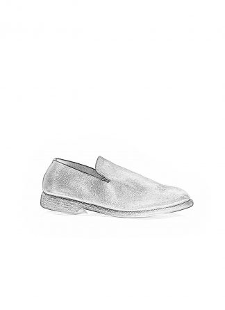 GUIDI 100 men slipper with heel shoe slip on herren schuhe calf leather black hide m 1