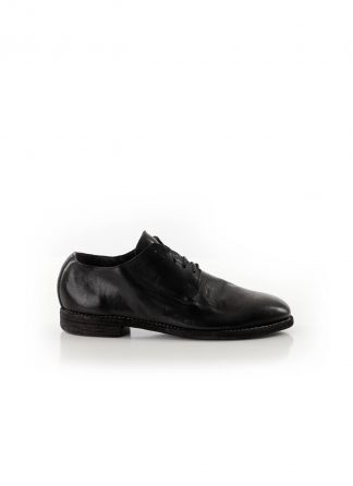 GUIDI 16 men one piece shoe derby herren schuh horse leather black hide m 2