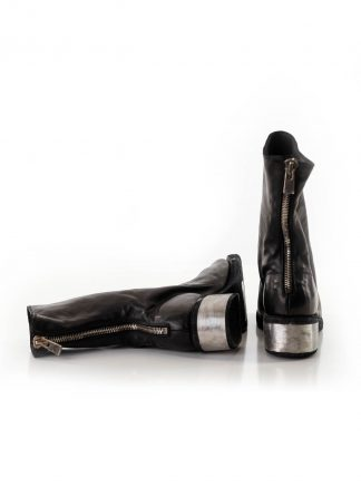 GUIDI 788zi women back zip boot metal heel shoe damen frauen schuh stiefel horse leather black hide m 2