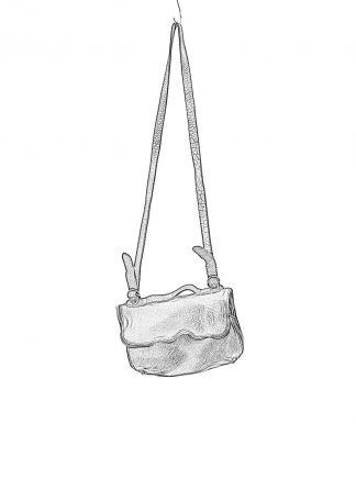 GUIDI M100 small messenger shoulder bag tasche soft horse full grain leather black hide m 1