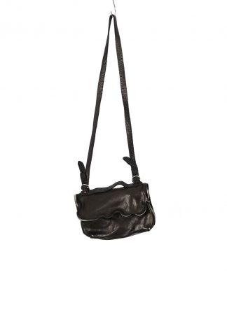 GUIDI M100 small messenger shoulder bag tasche soft horse full grain leather black hide m 2