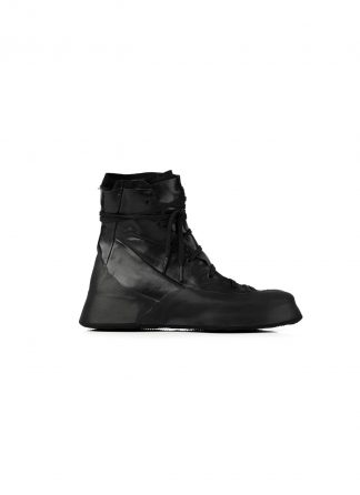 LEON EMANUEL BLANCK Distortion Featherweight High Top Sneaker DIS M HTS 01 horse leather black hide m 2