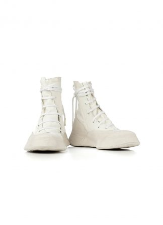 LEON EMANUEL BLANCK Distortion Featherweight High Top Sneaker DIS M HTS 01 kangaroo leather white hide m 2