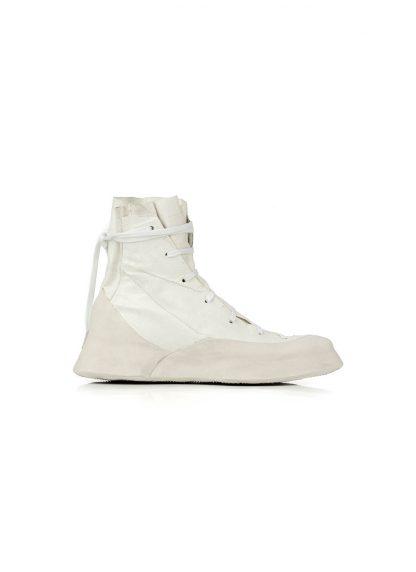 LEON EMANUEL BLANCK Distortion Featherweight High Top Sneaker DIS M HTS 01 kangaroo leather white hide m 3