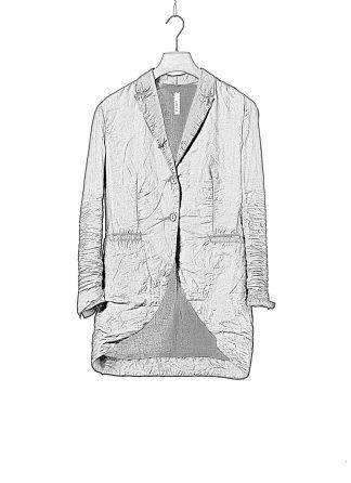 LAYER0 LAYER ZERO 23 40 Women Long Blazer Jacket Tait Jacke silk cotton black hide m 1