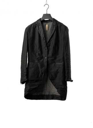 LAYER0 LAYER ZERO 23 40 Women Long Blazer Jacket Tait Jacke silk cotton black hide m 2