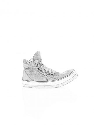 ADICIANNOVEVENTITRE A1923 Augusta 019 women sneaker damen frauen schuh shoe white rubber sole horse leather grey hide m 1