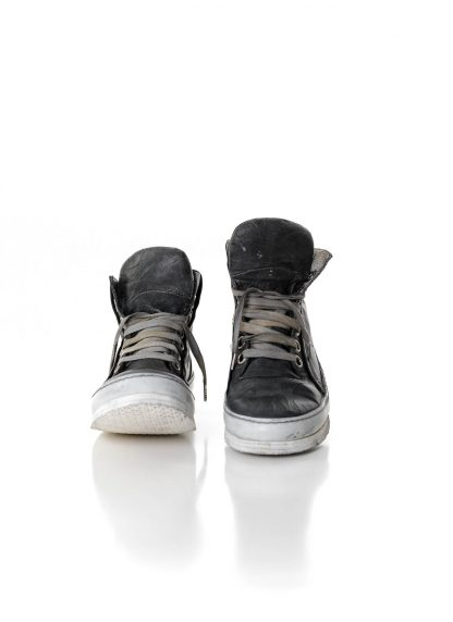 ADICIANNOVEVENTITRE A1923 Augusta 019 women sneaker damen frauen schuh shoe white rubber sole horse leather grey hide m 3