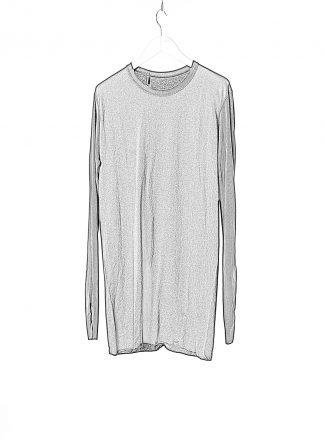 BORIS BIDJAN SABERI BBS LS1.2 RF F035 FTJ00001 Men Long Sleeve Tee Herren Longsleeve Tshirt Pulli Pullover Sweater cotton black hide m 1
