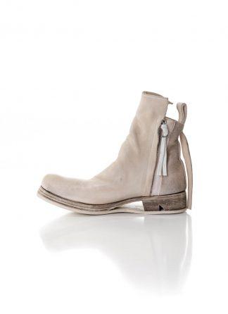 BORIS BIDJAN SABERI BBS Men BOOT1 Shoe Herren Schuh Stiefel Zip Ankle Boot F2519M horse leather light grey hide m 2
