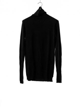 BORIS BIDJAN SABERI BBS Men High Neck Sweater KN6 FPI30003 Herren Pulli Pullover Sweater cashmere black hide m 2