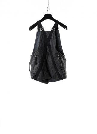 BORIS BIDJAN SABERI BBS VEST BAG 2 FMM20020 horse leather black hide m 2
