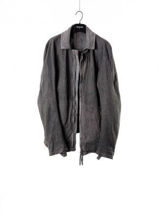 BORIS BIDJAN SABERI men jacket J2 FMM20006 exclusively limited herren leder jacke kangaroo leather light grey hide m 2