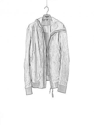 BORIS BIDJAN SABERI men jacket ZIPPER22 FMM20020 exclusively limited herren leder jacke horse leather black hide m 1