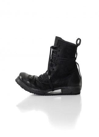 BORIS BIDJAN SABERI men shoe lace up boot BOOT2 herren schuh stiefel washed horse leather black hide m 2