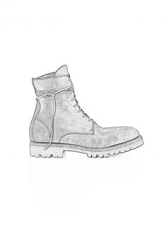 GUIDI 795V men lace up boot vibram sole herren schuh stiefel horse cordovan cont leather black hide m 1