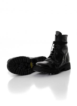 GUIDI 795V men lace up boot vibram sole herren schuh stiefel horse full grain leather black hide m 2
