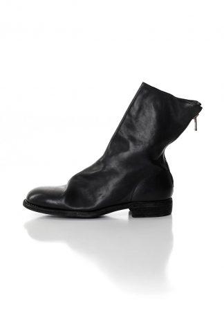 GUIDI 988 men back zip boot herren schuh stiefel horse full grain leather black hide m 2