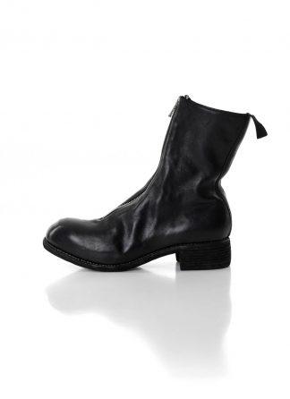GUIDI PL2 men mid front zip boot herren schuh stiefel horse full grain leather black hide m 2