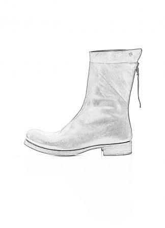 ma macross maurizio amadei men back zip boot extra S1N31Z shoe herren schuh stiefel horse leather black hide m 1