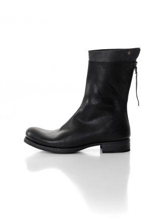ma macross maurizio amadei men back zip boot extra S1N31Z shoe herren schuh stiefel horse leather black hide m 2
