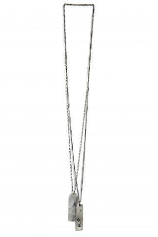 werkstatt munchen m3122 necklace tags faith love hope