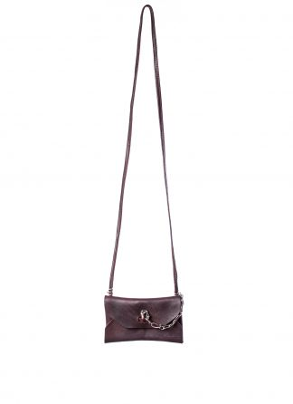 GUIDI GD01 Small Shoulder Envelope Bag Tasche calf leather CV23T burgundy hide m 2
