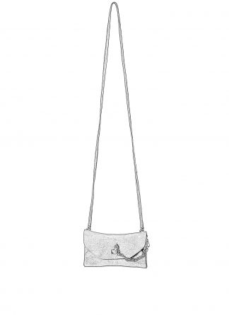 GUIDI GD01 Small Shoulder Envelope Bag Tasche calf leather black hide m 1