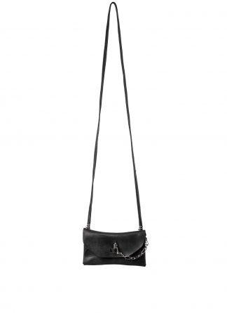 GUIDI GD01 Small Shoulder Envelope Bag Tasche calf leather black hide m 2