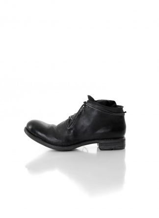 LAYER 0 Men Ankle Boot 2.5 h10 hgy limited hand made goodyear shoe herren schuh horse cordovan full grain leather black hide m 2