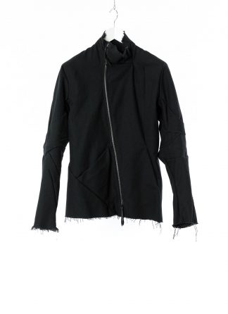 LEON EMANUEL BLANCK LEB Men Classic Distortion Jacket DIS M LJ 01 unlined Herren Jacke cotton canvas black hide m 22