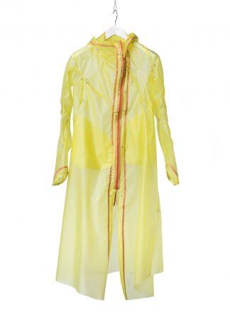 Leon Emanuel Blanck LEB women distortion overundercoat coat damen frauen mantel jacke pu yellow hide m 2