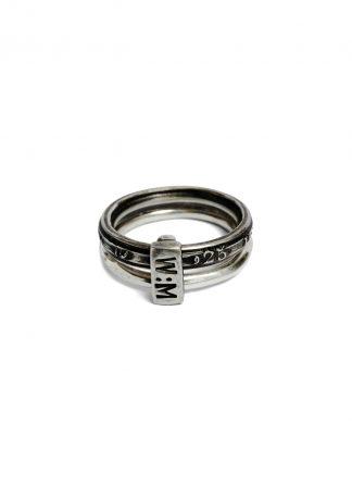 werkstatt munchen m1025 connected ring 25 years jewelry jewellery 925 sterling silver hide m 1