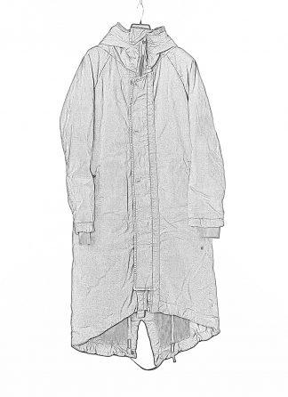 BORIS BIDJAN SABERI BBS Men PARKA FISHTAIL 1 Primaloft FKU10001 Herren Mantel Coat Jacket Jacke cotton pu black hide m 1