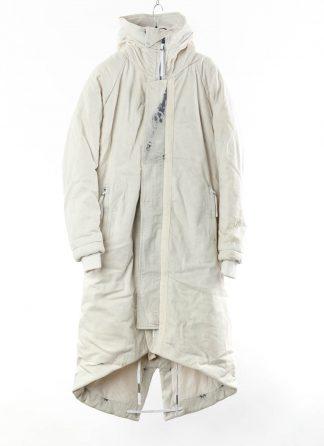 BORIS BIDJAN SABERI BBS Men PARKA FISHTAIL 1 Primaloft FKU10001 Herren Mantel Coat Jacket Jacke cotton pu punk grey acid dyed hide m 22
