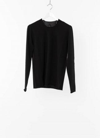 LABEL UNDER CONSTRUCTION LUC 26YMSW104 WS16 RG 38 9 Men Perspective Sweater Herren Pulli Pullover Sweatshirt cashmere black hide m 2