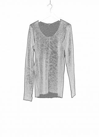 LABEL UNDER CONSTRUCTION LUC 30YXSW149 WS35 RG 38 9 Men Arched Long Sweater Herren Pulli Pullover Sweatshirt cashmere silk black hide m 1