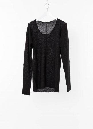 LABEL UNDER CONSTRUCTION LUC 30YXSW149 WS35 RG 38 9 Men Arched Long Sweater Herren Pulli Pullover Sweatshirt cashmere silk black hide m 2