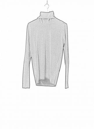 LABEL UNDER CONSTRUCTION LUC 34YMSW224 WS16 RG 38 9 Men Punched Cylindric High Neck Sweater Herren Pulli Pullover Sweatshirt cashmere black hide m 1