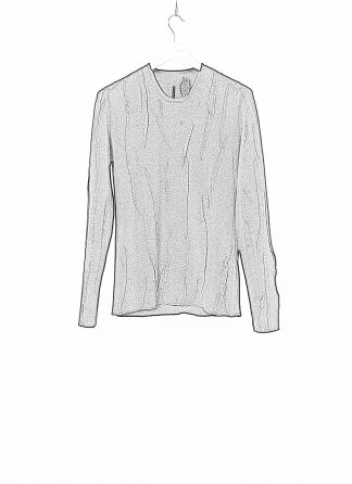 LABEL UNDER CONSTRUCTION LUC 38YXSW93 WS78 HD 38 99 Men Lunar Sweater Reversible Herren Pulli Pullover Sweatshirt cashmere wool silk black hide m 1