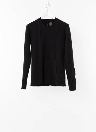 LABEL UNDER CONSTRUCTION LUC 38YXSW93 WS78 HD 38 99 Men Lunar Sweater Reversible Herren Pulli Pullover Sweatshirt cashmere wool silk black hide m 2