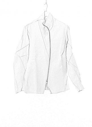LEON EMANUEL BLANCK LEB Men Distortion Straight Jacket DIS M SJ 01 Herren Jacke japanese selfedge denim light grey hide m 11