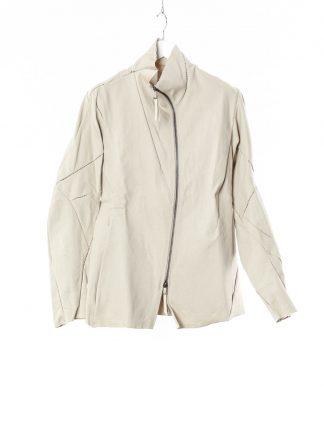 LEON EMANUEL BLANCK LEB Men Distortion Straight Jacket DIS M SJ 01 Herren Jacke japanese selfedge denim light grey hide m 2