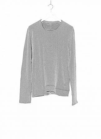 TAICHI MURAKAMI Men T shirt U LS Sweater Herren Pulli Pullover Sweatshirt DNA Paper Cotton Wface grey black hide m 1