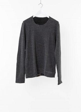 TAICHI MURAKAMI Men T shirt U LS Sweater Herren Pulli Pullover Sweatshirt DNA Paper Cotton Wface grey black hide m 2