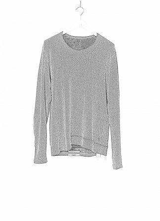 TAICHI MURAKAMI Men T shirt U LS Sweater Herren Pulli Sweatshirt Pullover DNA Paper Mongolian Cashmere Wface grey black hide m 1