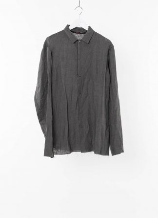 MA MAcross Maurizio Amadei Men Medium Fit Shirt H222 LL4 Herren Hemd linen coal hide m 2
